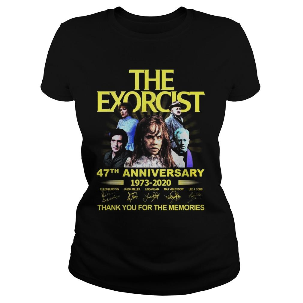 The Exorcist 47th Anniversary 1973 2020 Thank You For The Memories Longsleeve