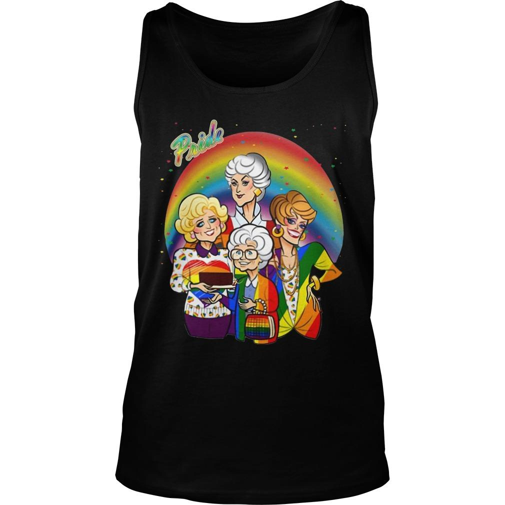 The Golden Girls Pride Month Tank Top