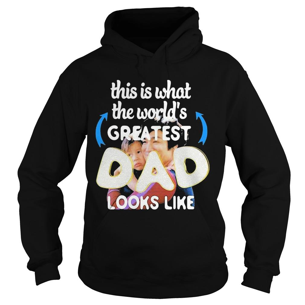 This Is What The World's Greatest Dad Looks Like Bruce Lee Hoodie