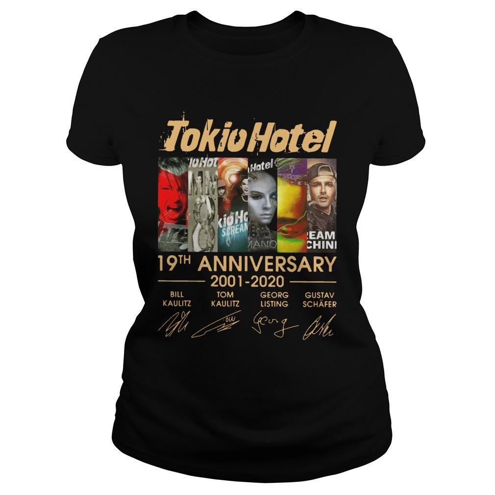 Tokio Hotel 19th Anniversary Bill Kaulitz Tom Kaulitz Georg Listing Longsleeve