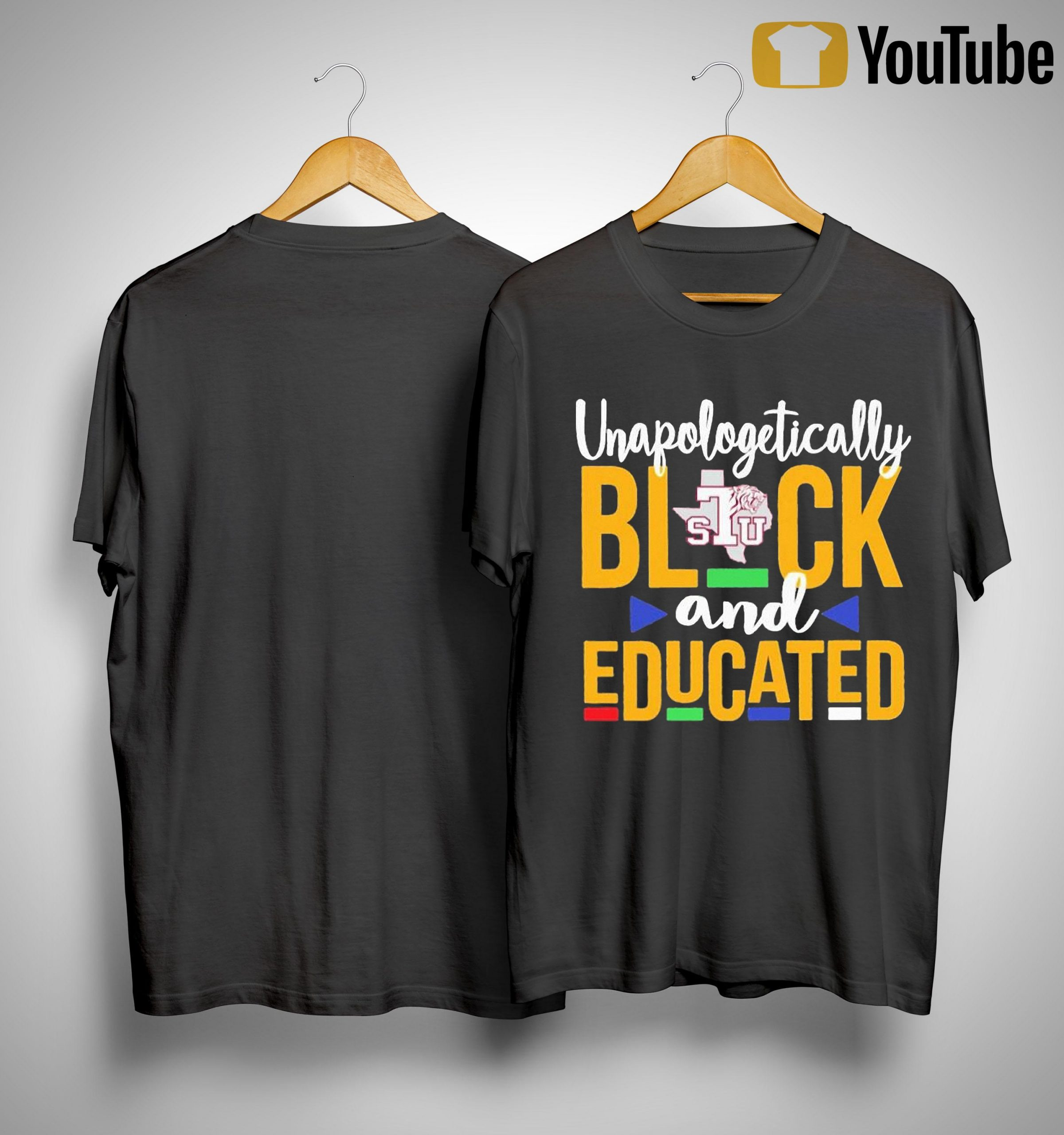 Unapologetically Black Stu And Educated Shirt