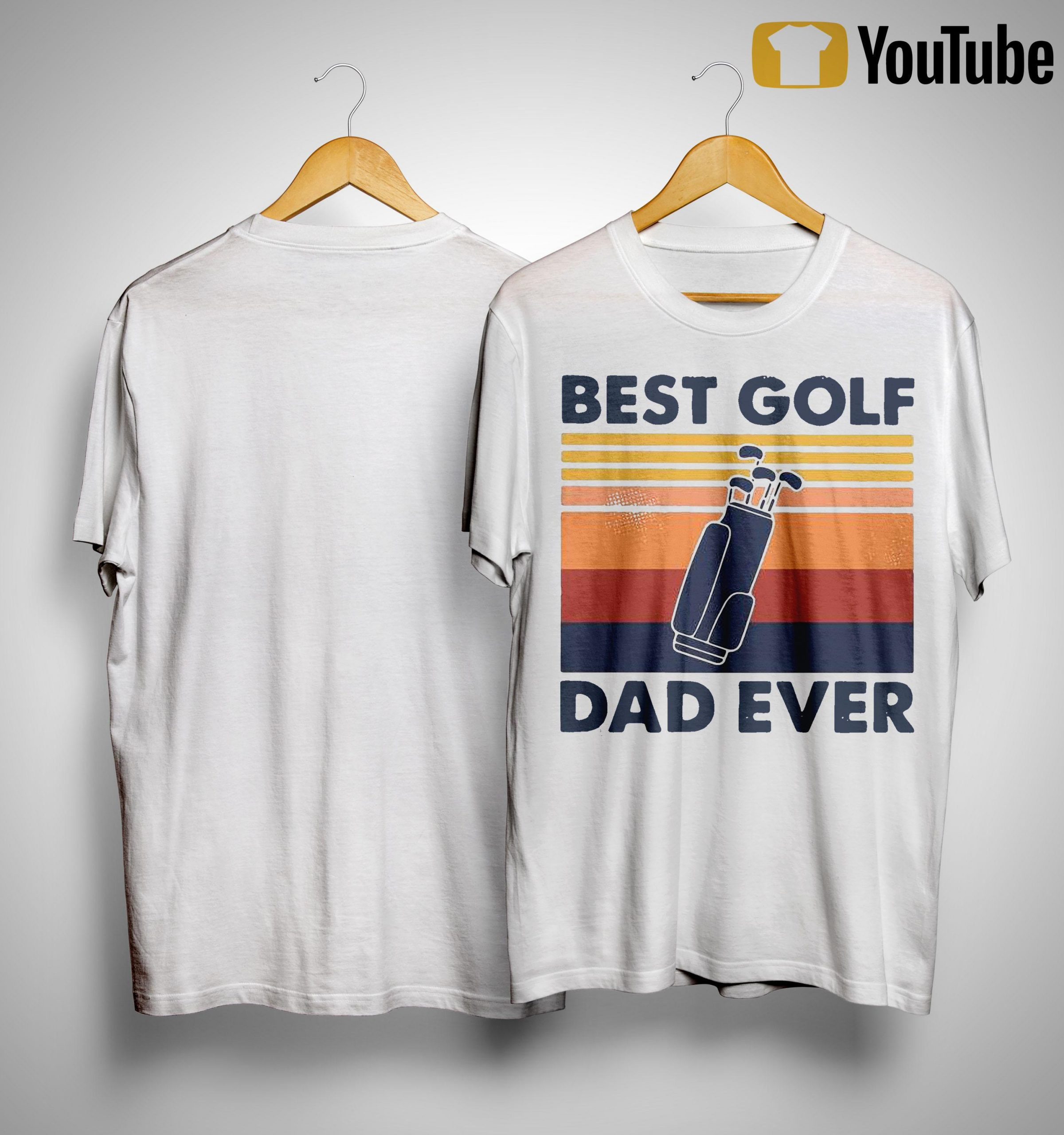 Vintage Best Golf Dad Ever Shirt