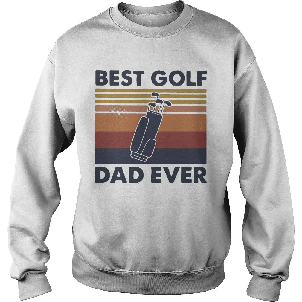 Vintage Best Golf Dad Ever Sweater