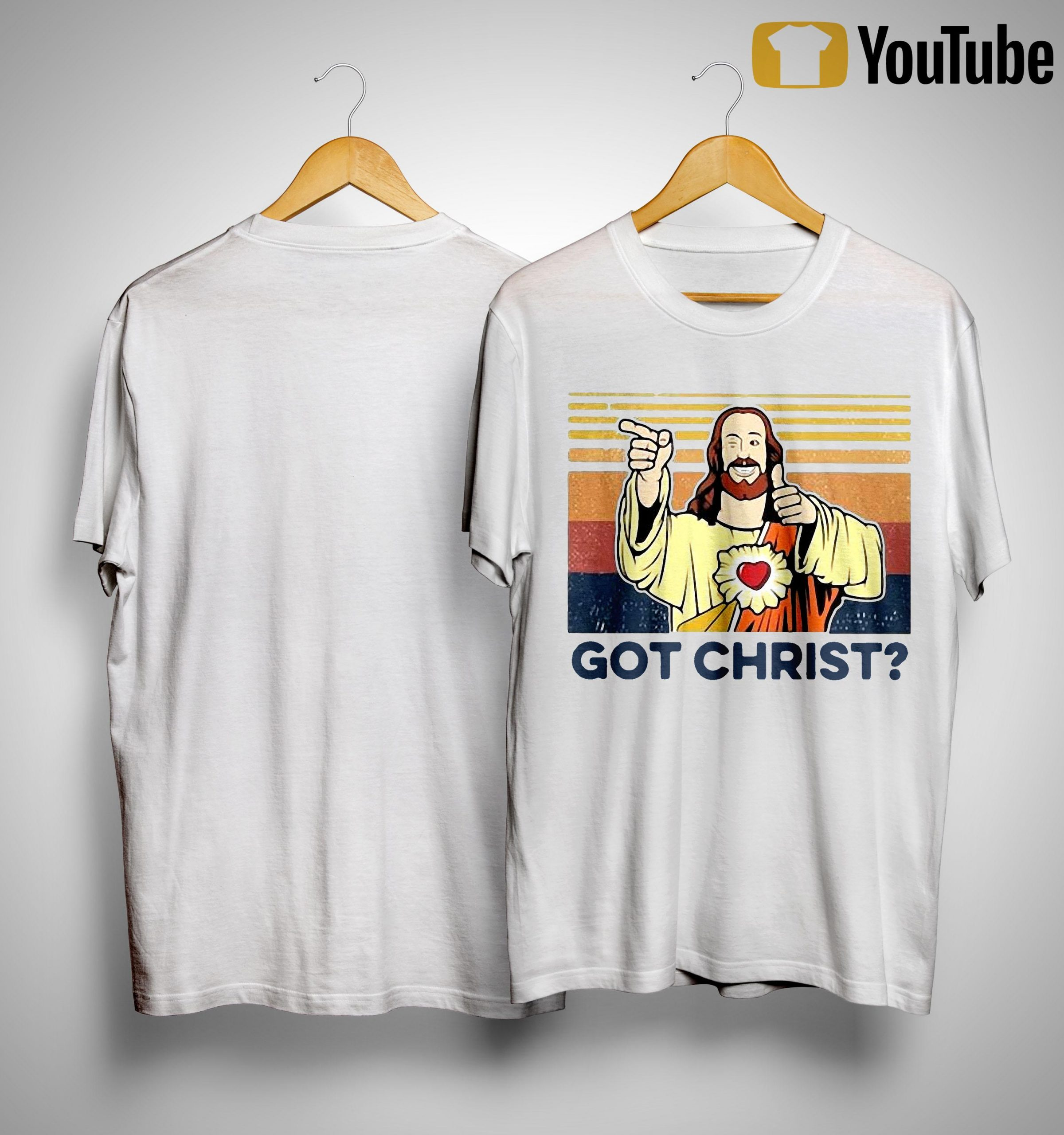 Vintage Heart Got Christ Shirt