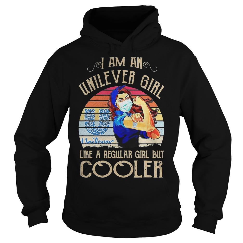 Vintage I Am An Unilever Girl Like A Regular Girl But Cooler Hoodie