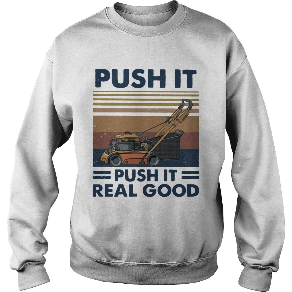 Vintage Push It Push It Real Good Sweater