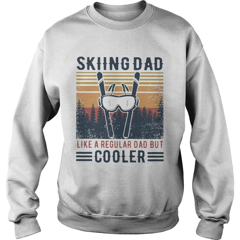Vintage Skiing Dad Like A Regular Dad But Cooler Sweater