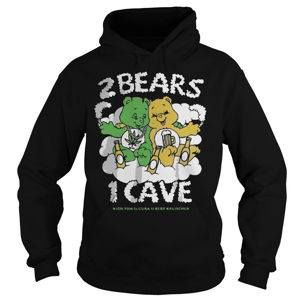 2 Bears 1 Cave With Tom Segura And Bert Kreischer Hoodie
