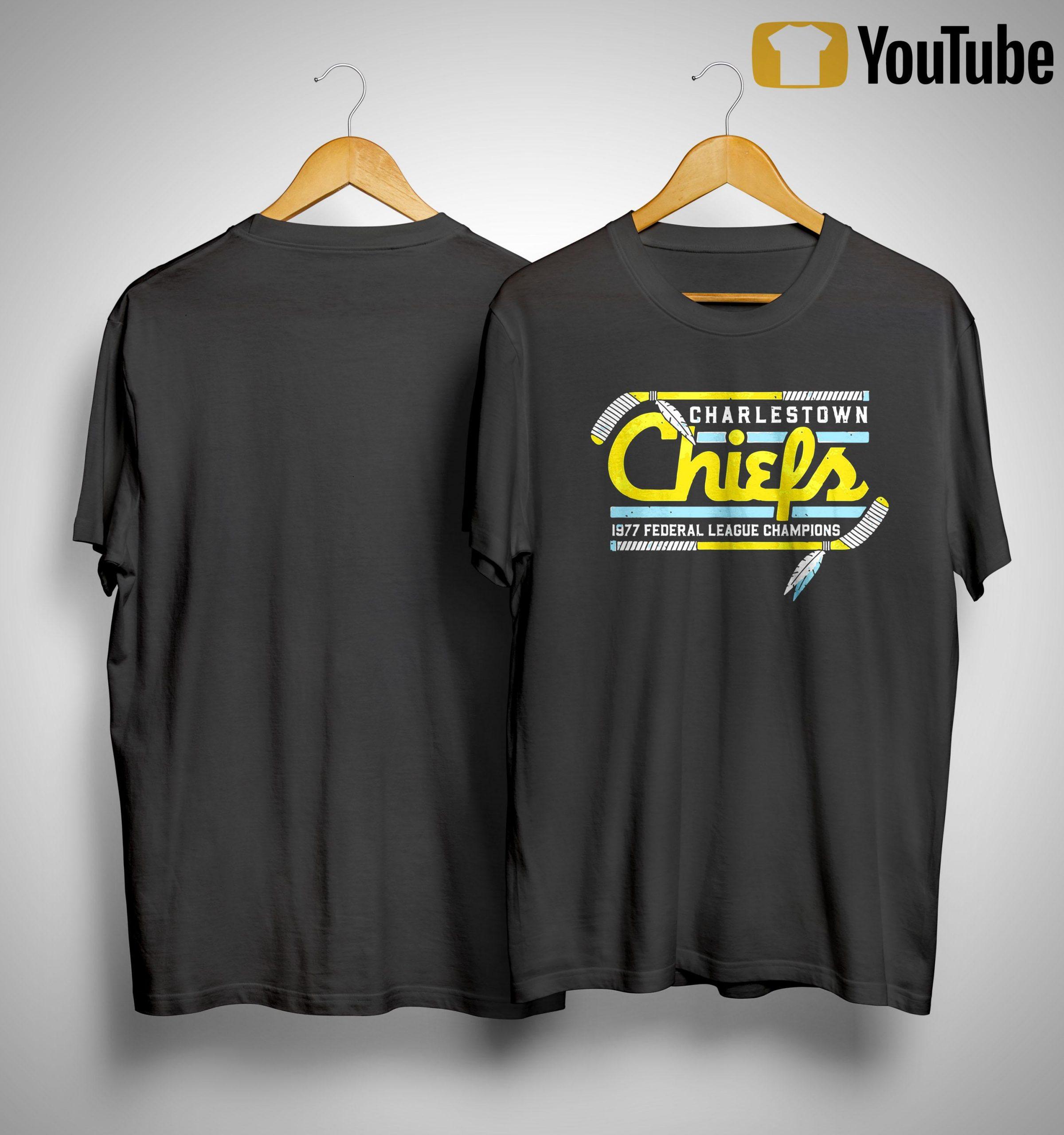 Charlestown Chiefs 1977 Federal League Champions Shirt