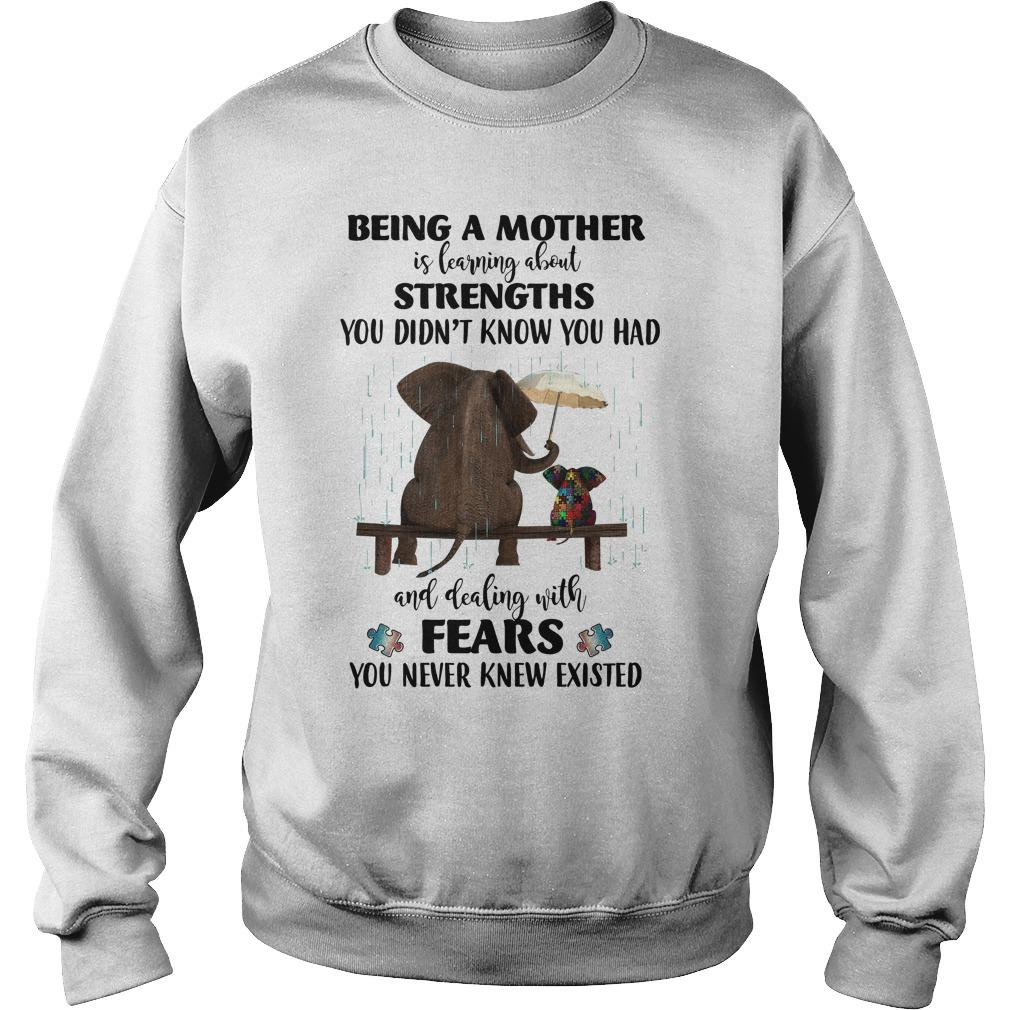 Elephant Autism Being A Mother Is Learning About Strengths Fears Sweater
