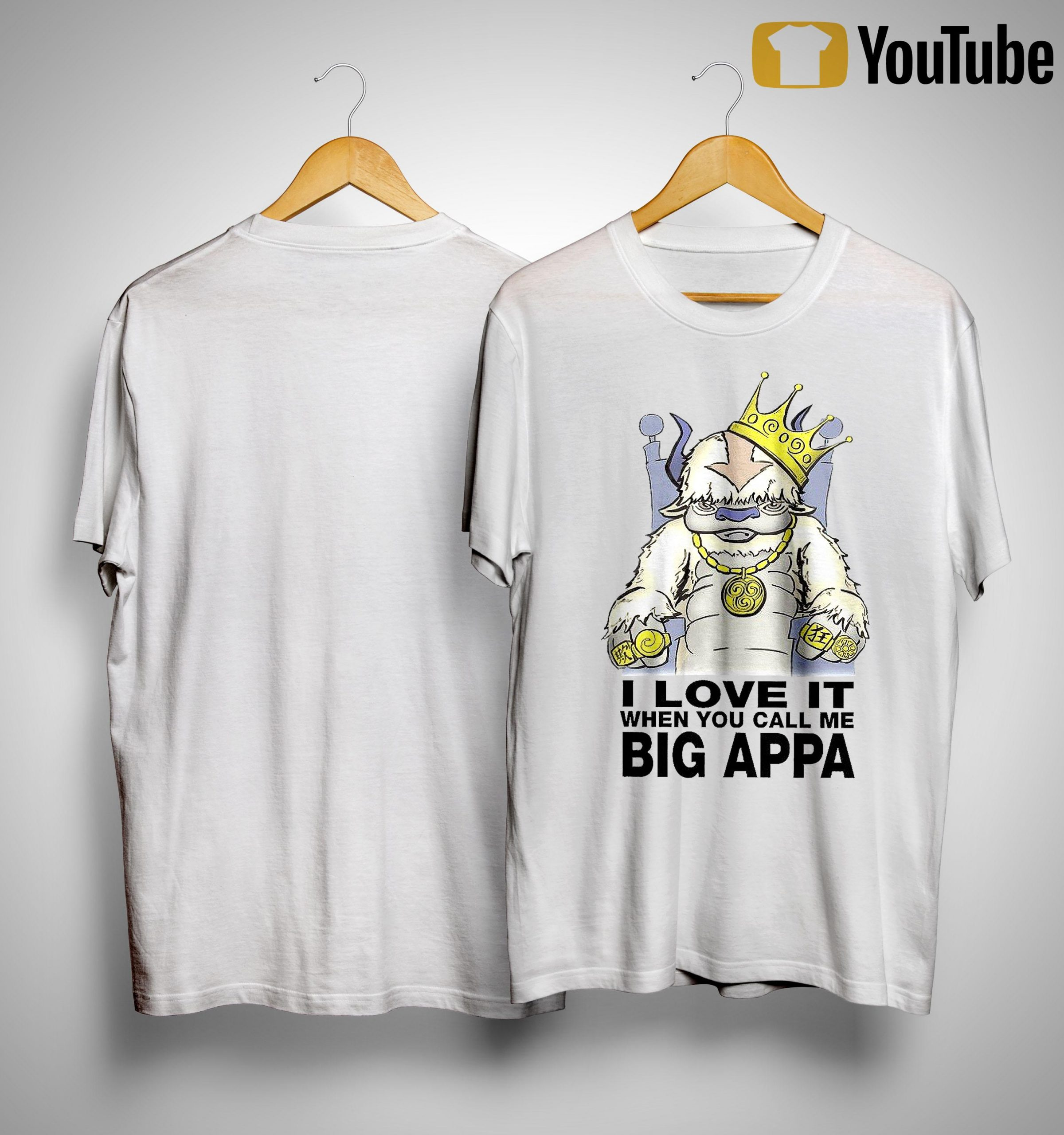 I Love It When You Call Me Big Appa Shirt