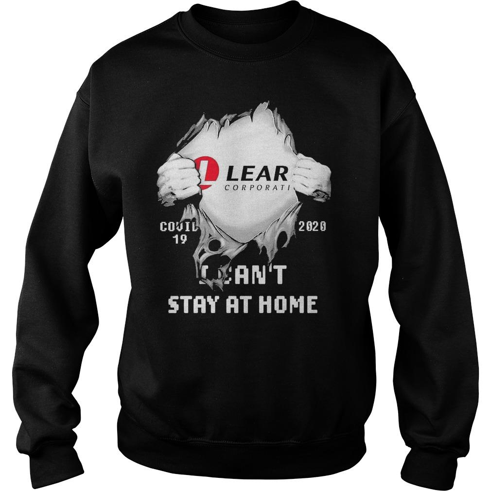 Inside Me Lear Corporation Covid 19 2020 I Can't Stay At Home Sweater
