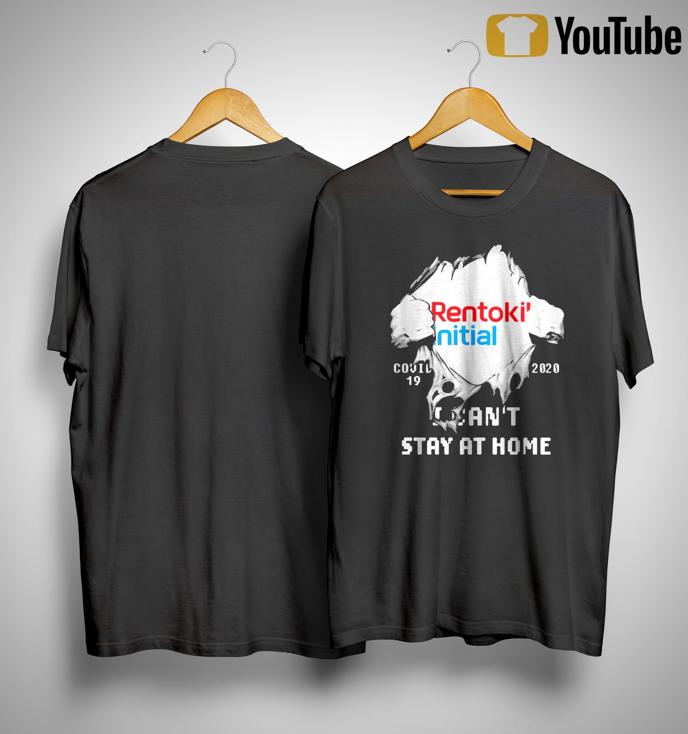Inside Me Rentokil Initial Covid 19 2020 I Can't Stay At Home Shirt