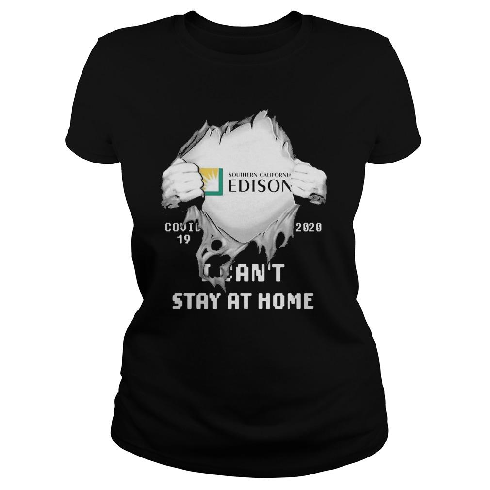 Inside Me Southern California Edison Covid 19 2020 I Can't Stay At Home Longsleeve