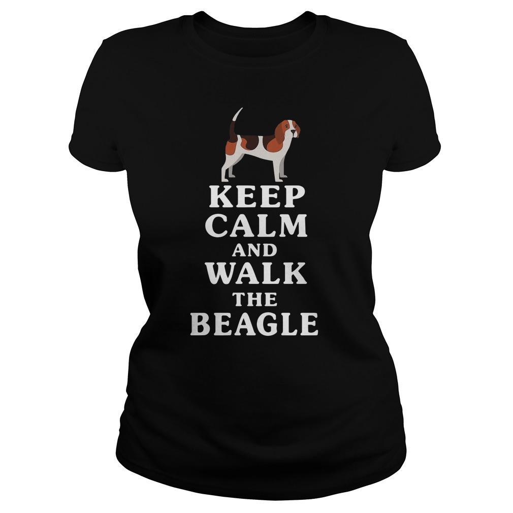 Keep Calm And Walk The Beagle Longsleeve