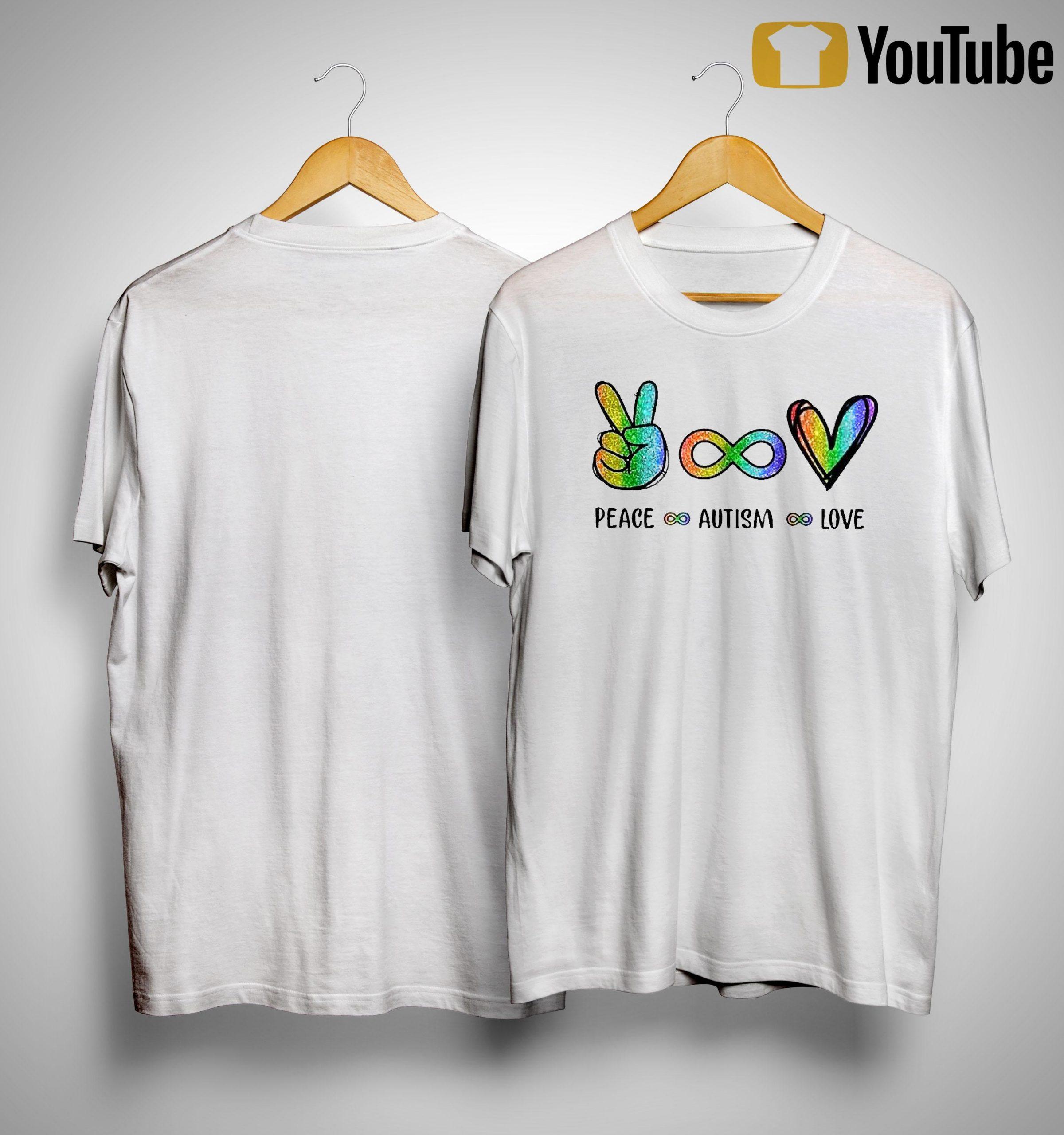 Lgbt Diamond Peace Autism Love Shirt