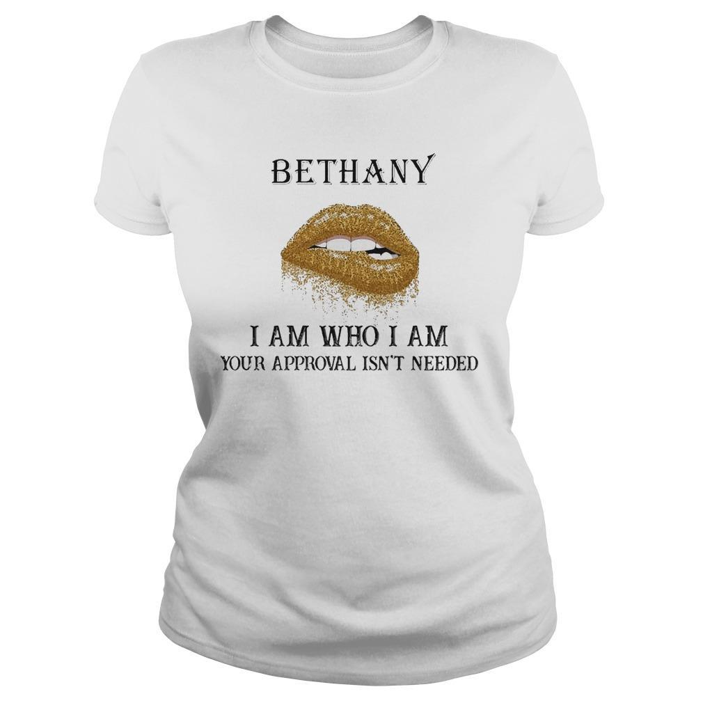Lips Diamond Bethany I Am Who I Am Your Approval Isn't Needed Longsleeve