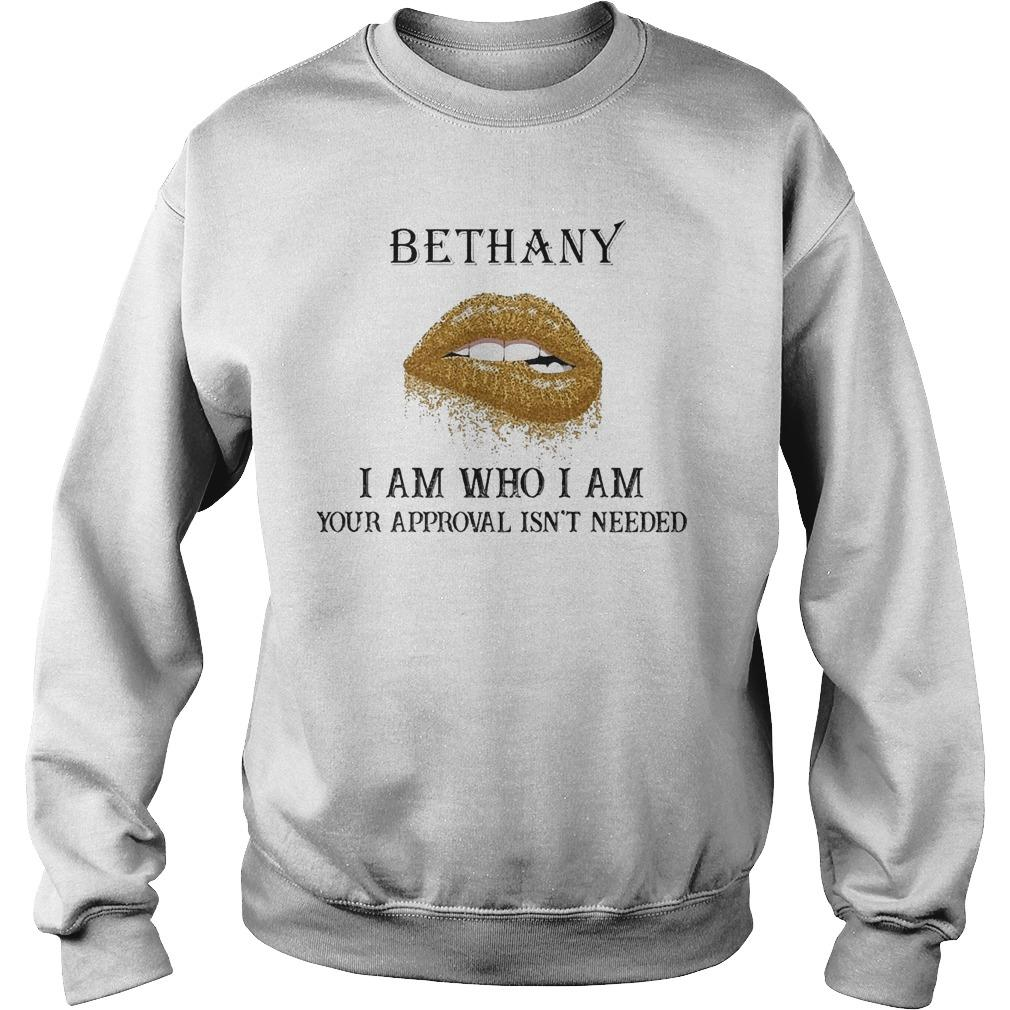 Lips Diamond Bethany I Am Who I Am Your Approval Isn't Needed Sweater