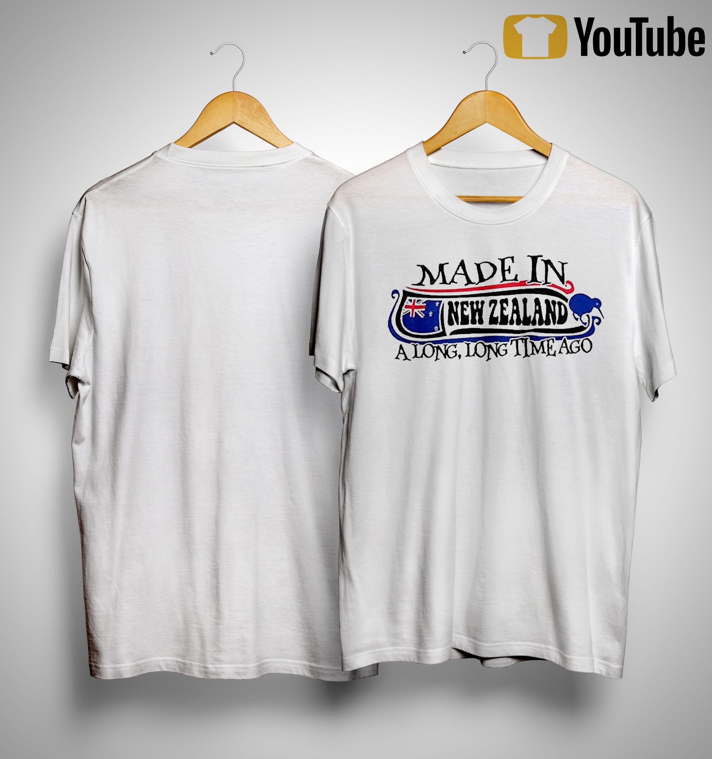 Made In New Zealand A Long Long Time Ago Shirt