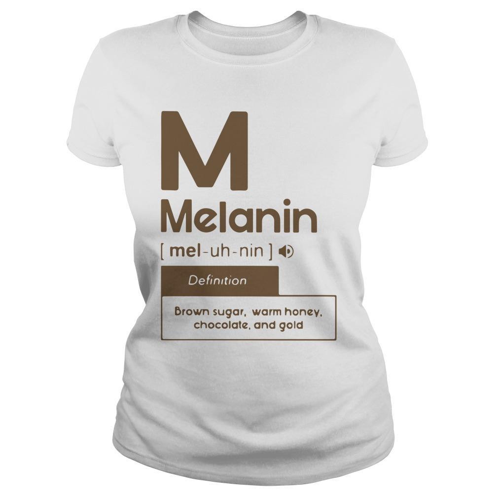 Melanin Definition Brown Sugar Warm Honey Chocolate And Gold Longsleeve