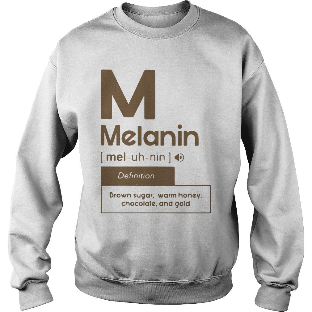 Melanin Definition Brown Sugar Warm Honey Chocolate And Gold Sweater
