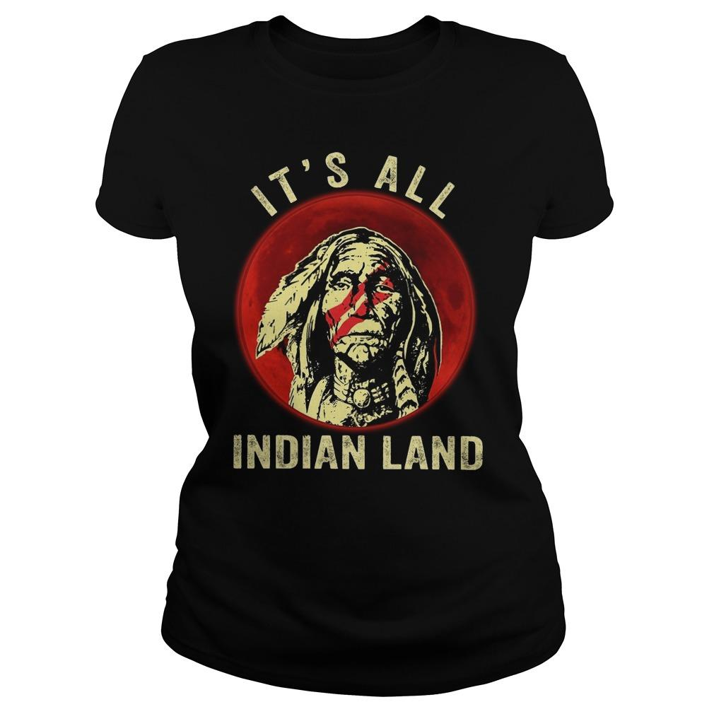 Moon Native It's All Indian Land Longsleeve