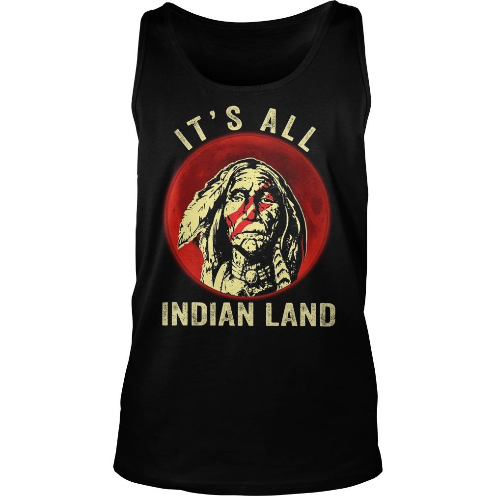 Moon Native It's All Indian Land Tank Top