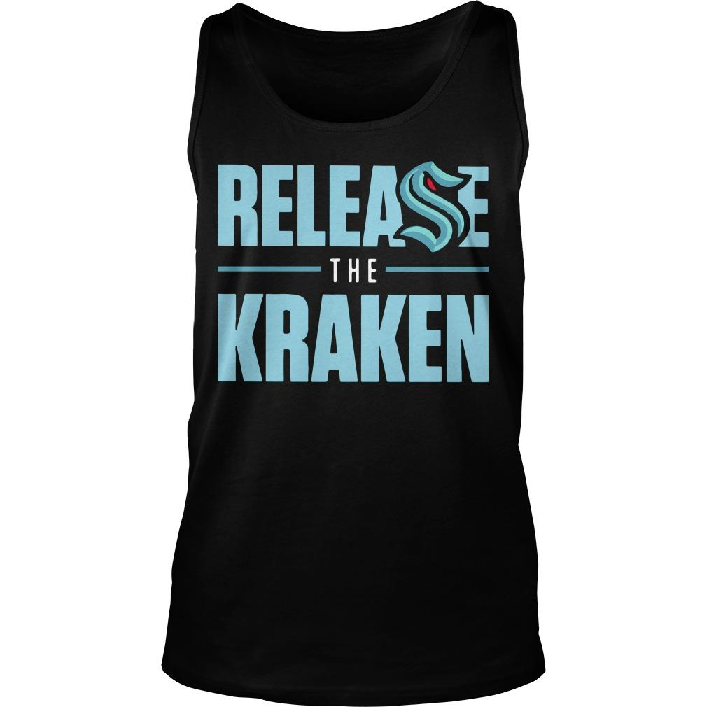 Release The Kraken T Tank Top