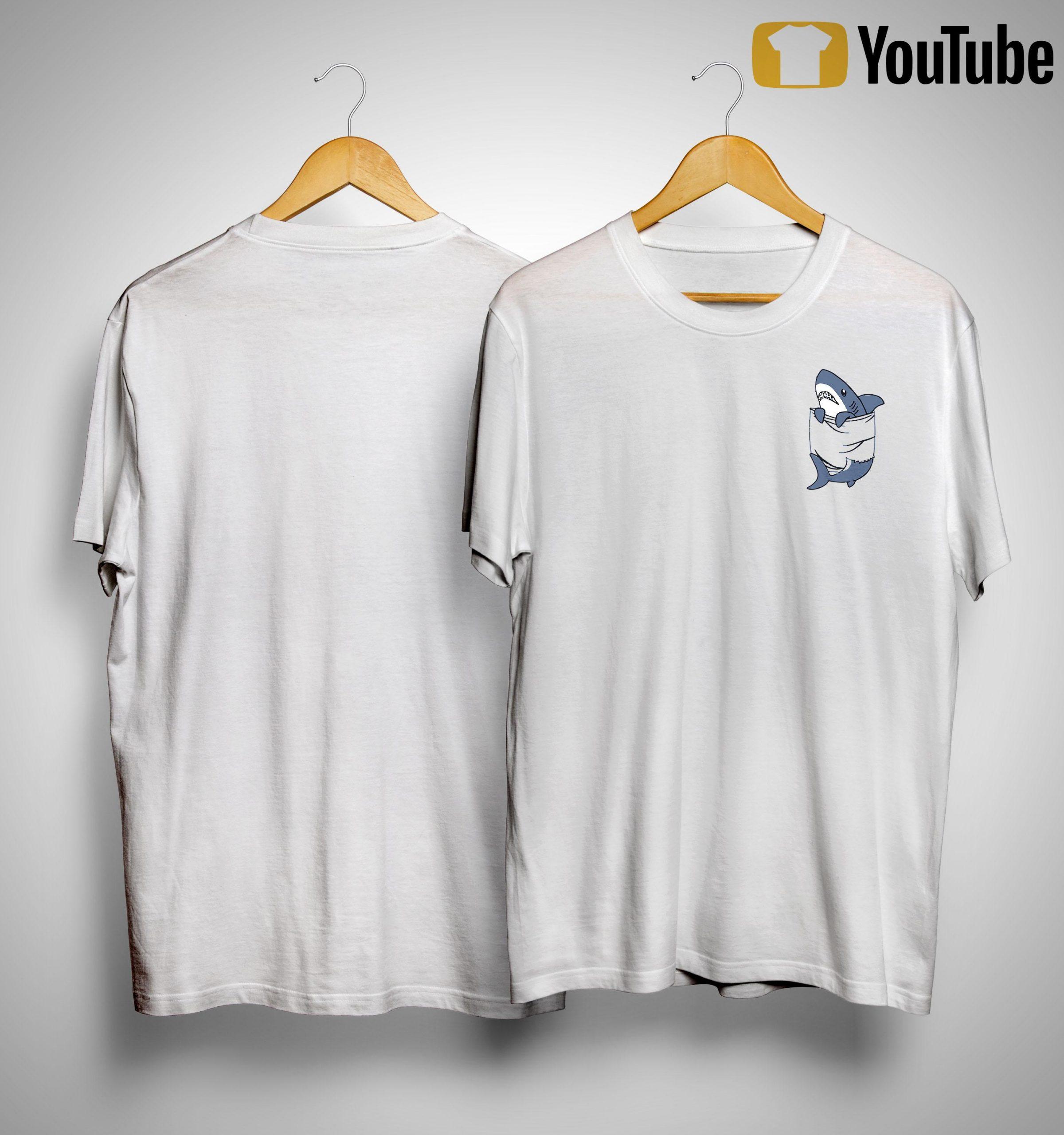 Shark In The Pocket Shirt
