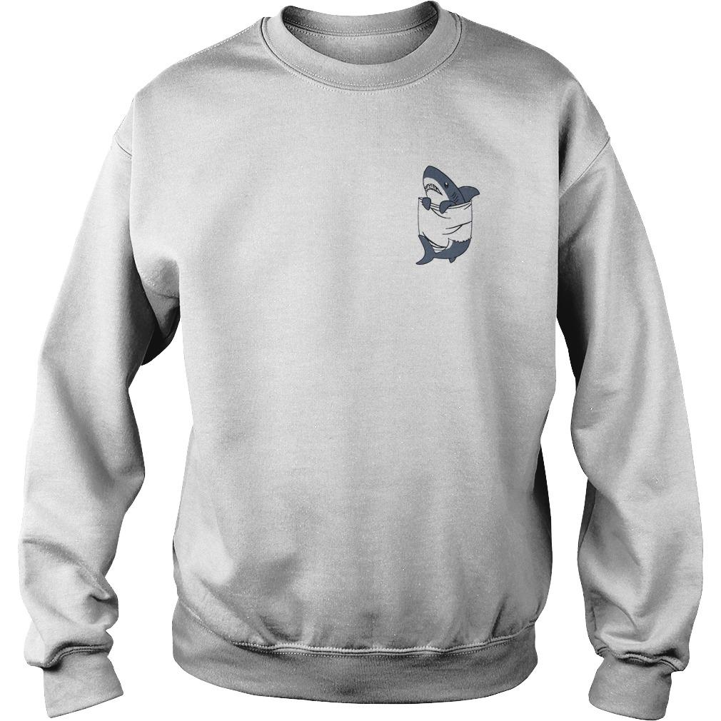 Shark In The Pocket Sweater