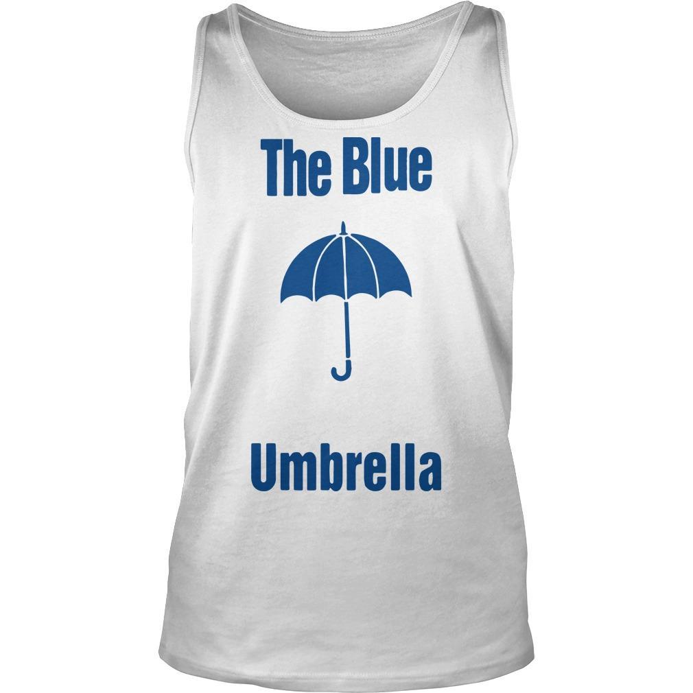 The Blue Umbrella Tank Top