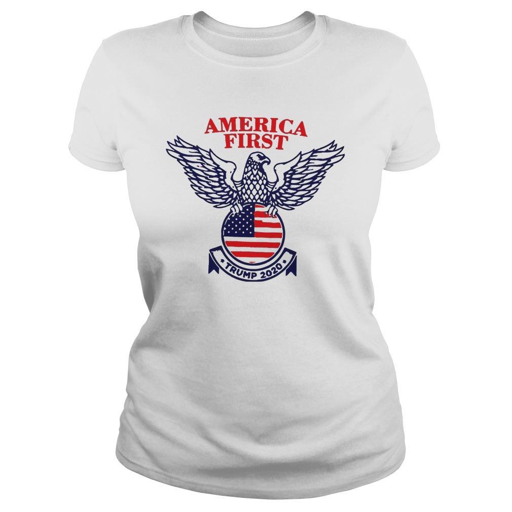 Trump Campaign America First Longsleeve