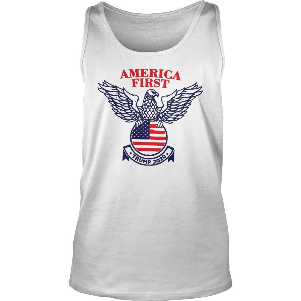 Trump Campaign America First Tank Top