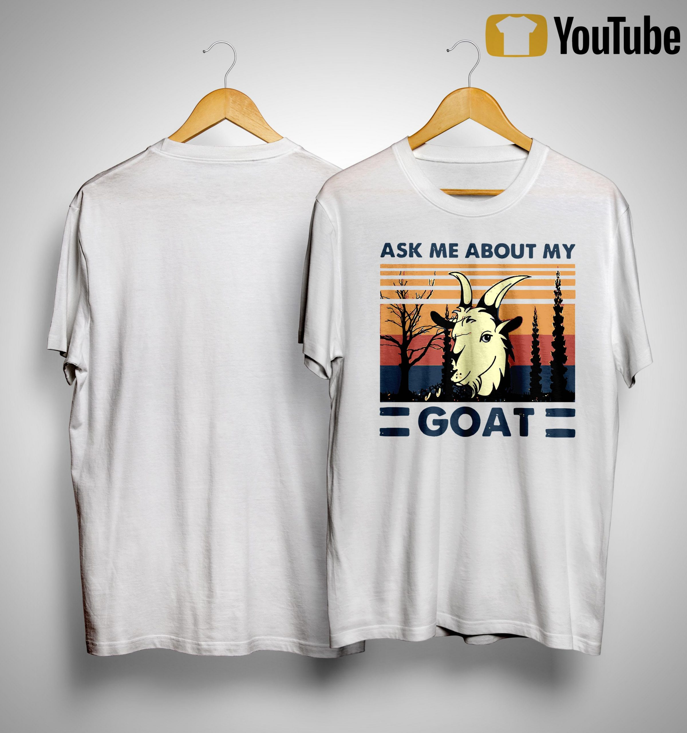 Vintage Ask Me About My Goat Shirt
