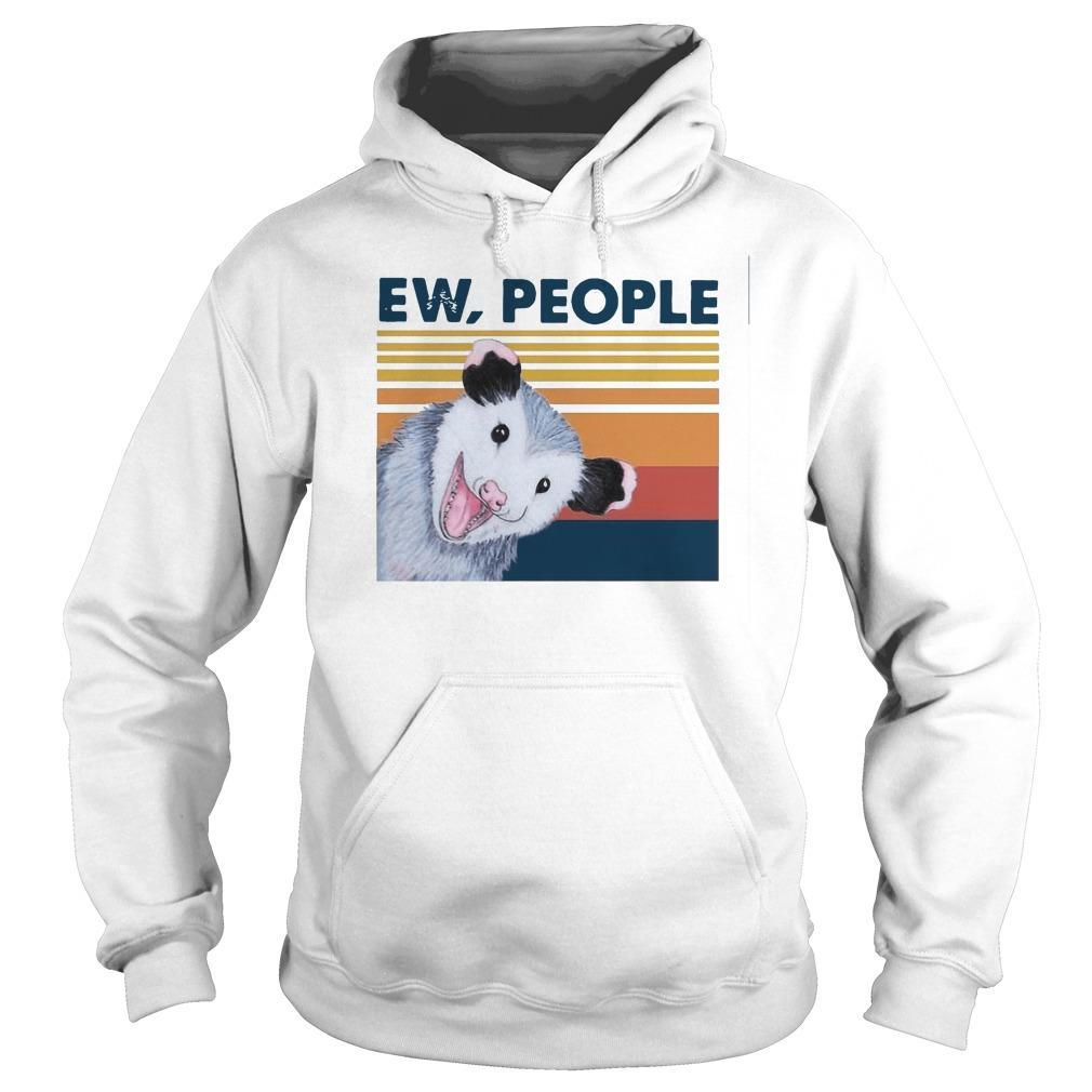 Vintage Opossum Ew People Hoodie