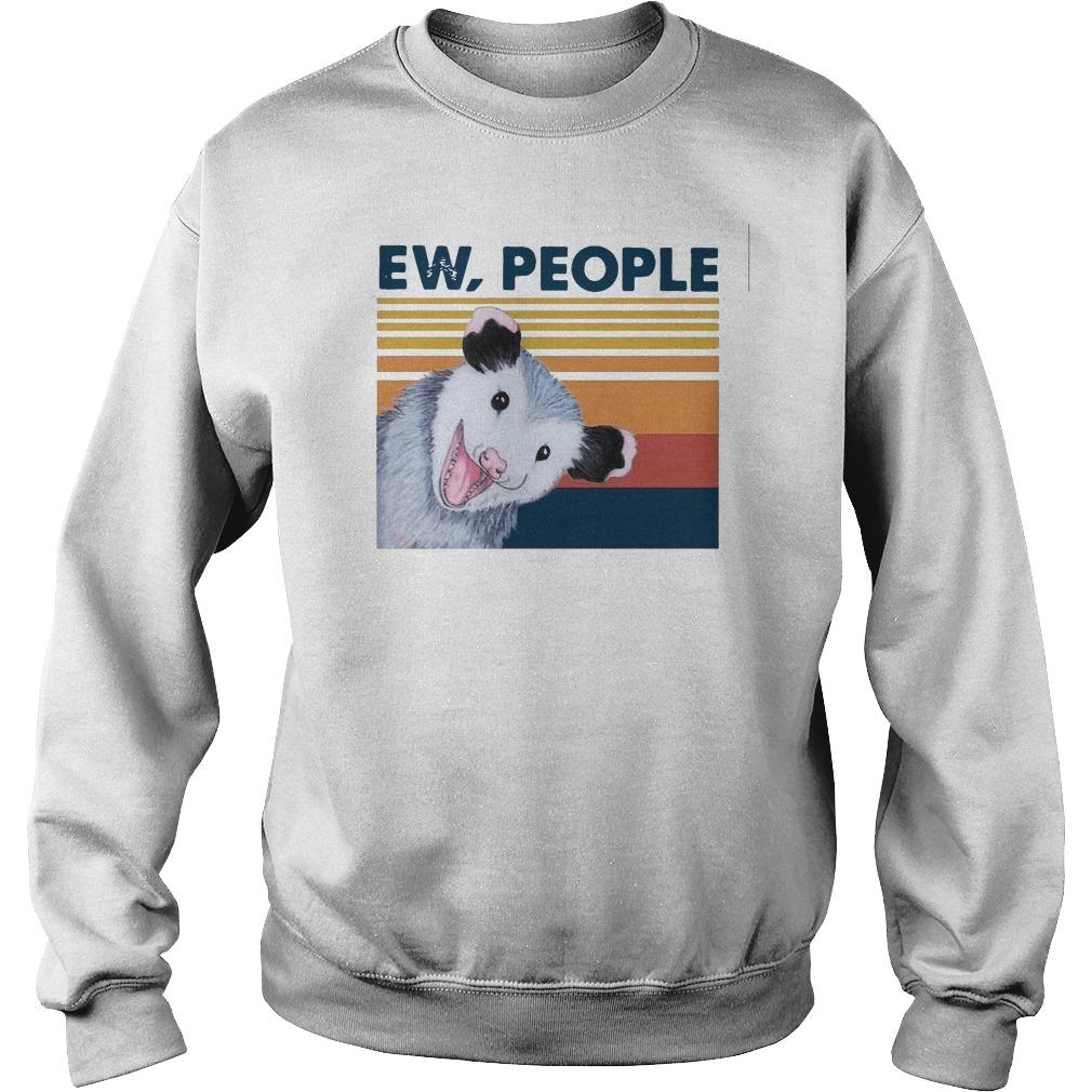 Vintage Opossum Ew People Sweater