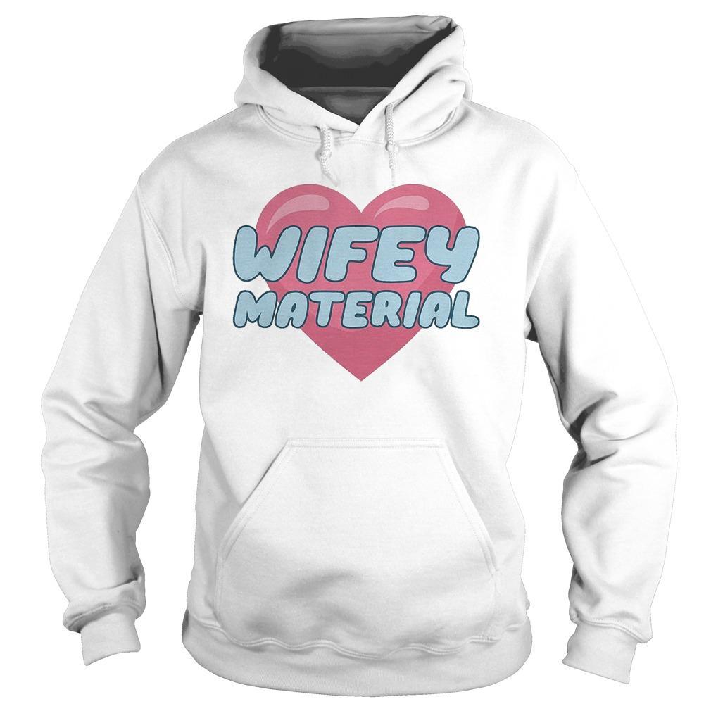 Wifey Material Hoodie
