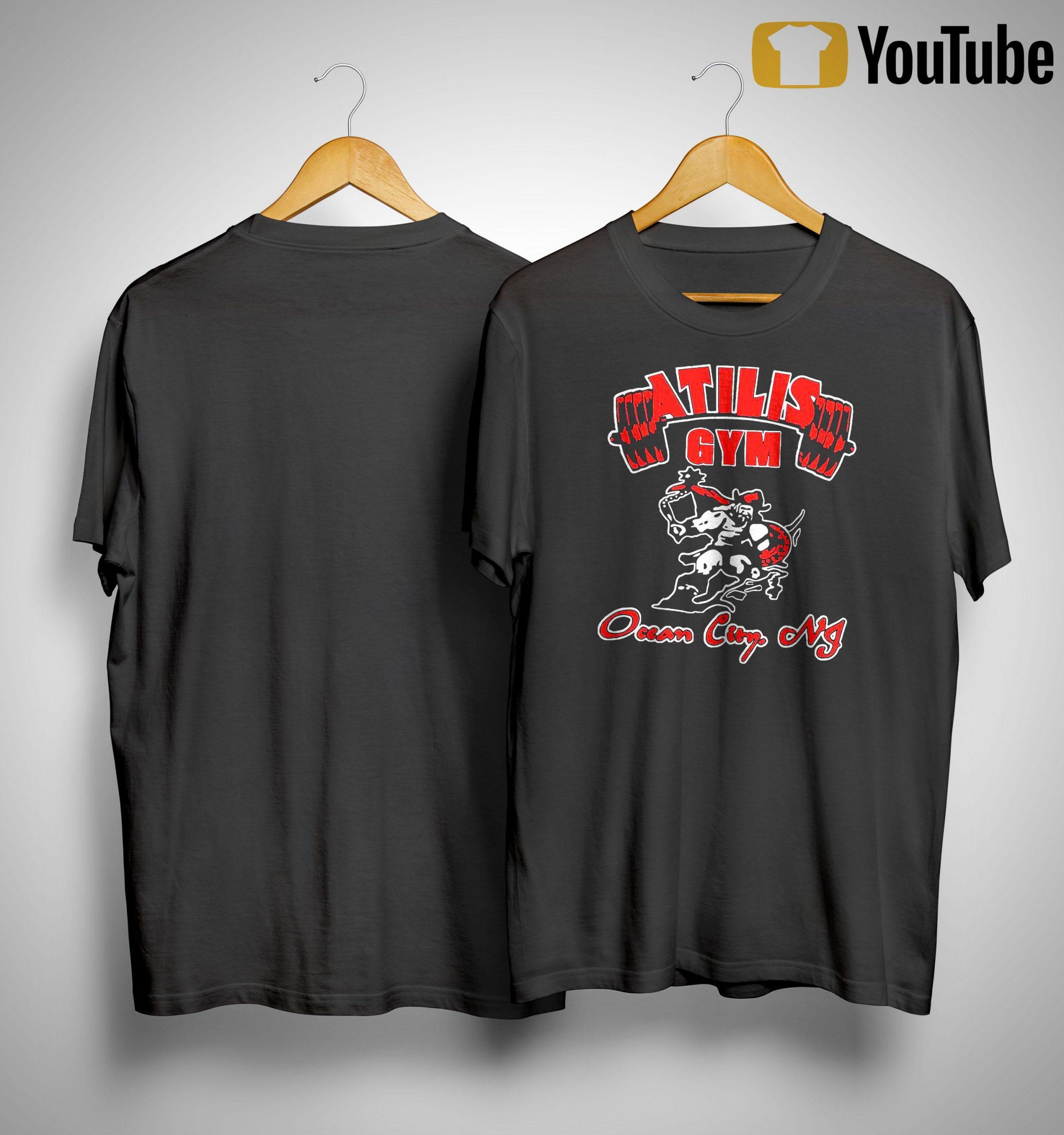 Atilis Gym Ocean City Shirt