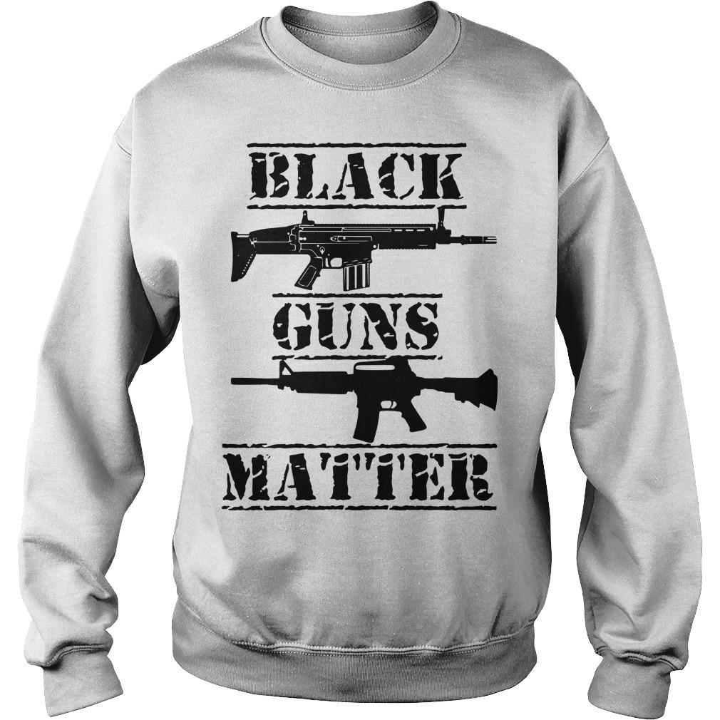 Black Guns Matter Sweater