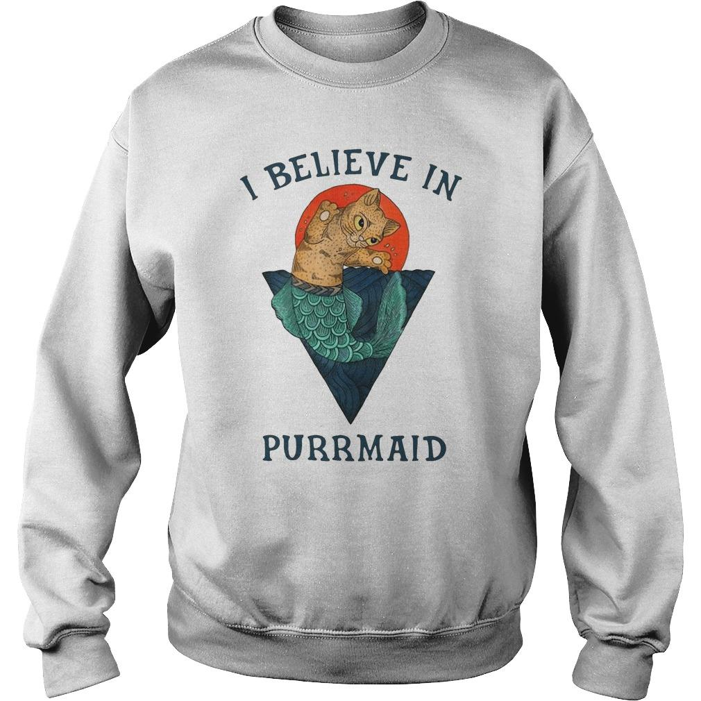 Cat I Believe In Purrmaid Sweater
