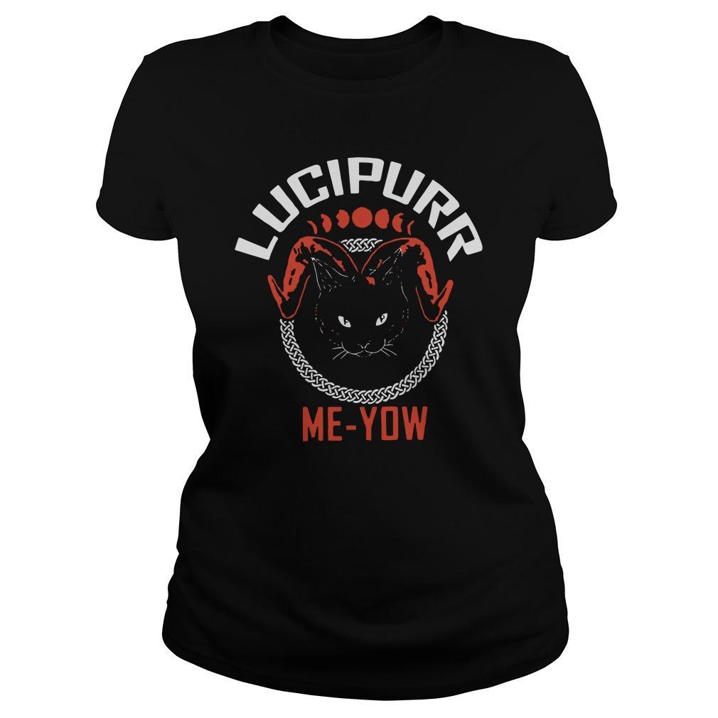 Cat Lucipurr Me Yow Longsleeve