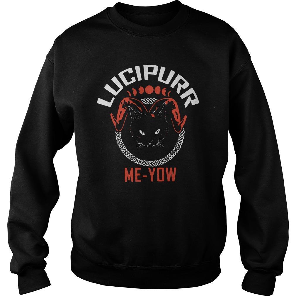 Cat Lucipurr Me Yow Sweater