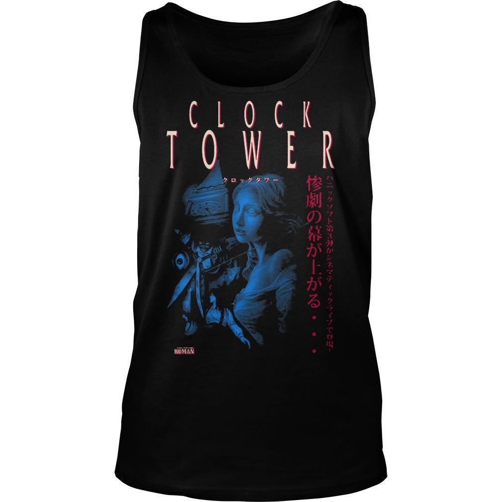 Clock Tower Tank Top