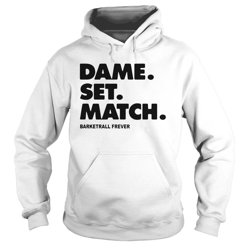 Dame Set Match Barketrall Frever Hoodie