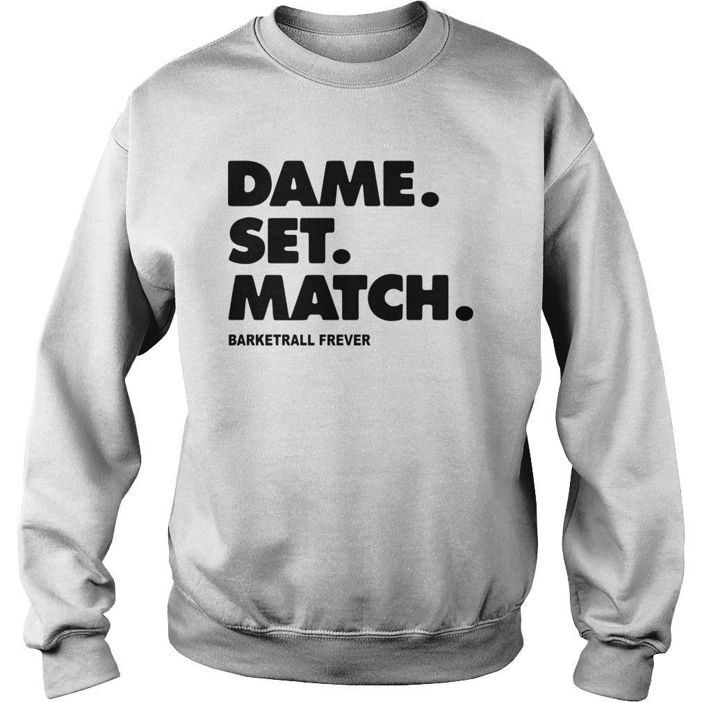 Dame Set Match Barketrall Frever Sweater
