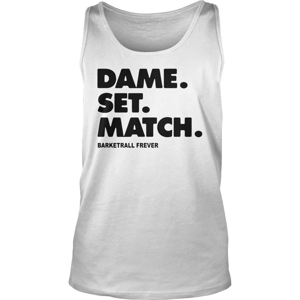 Dame Set Match Barketrall Frever Tank Top