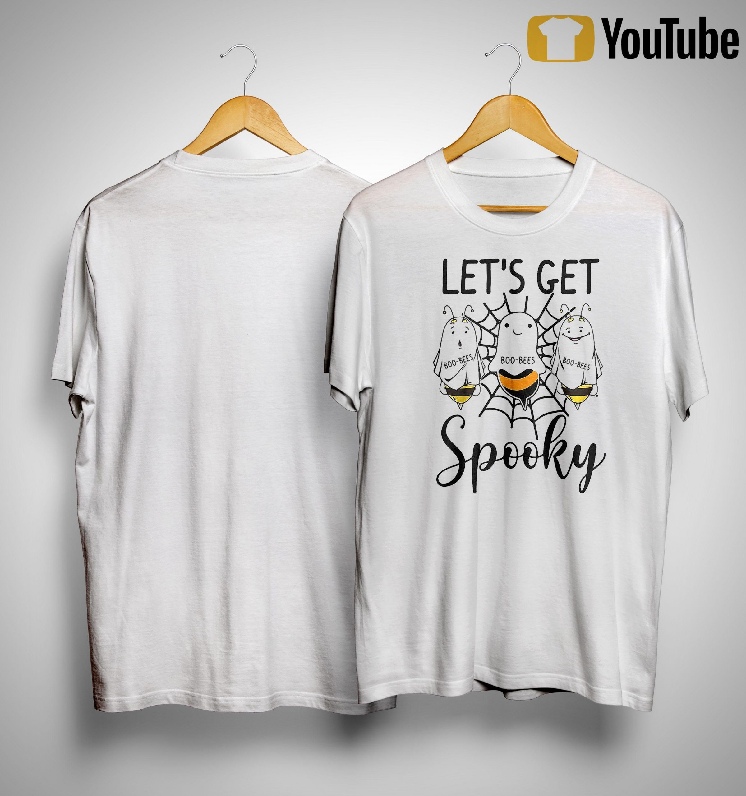Halloween Boo Bees Let's Get Spooky Shirt