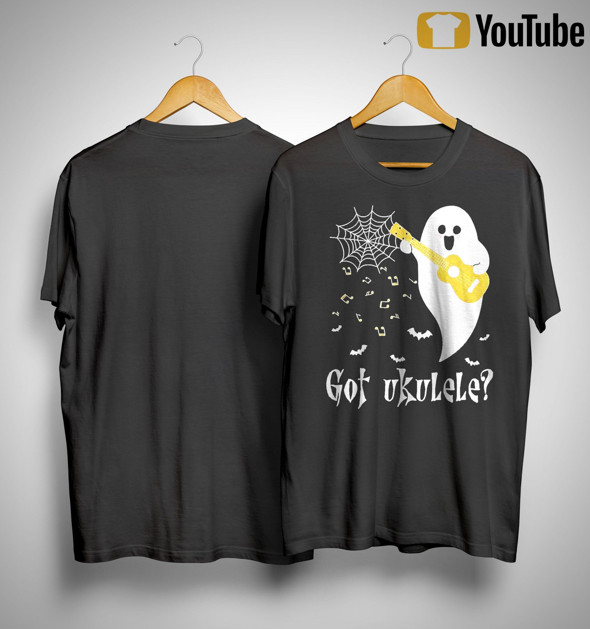 Halloween Ghost Got Ukulele Shirt