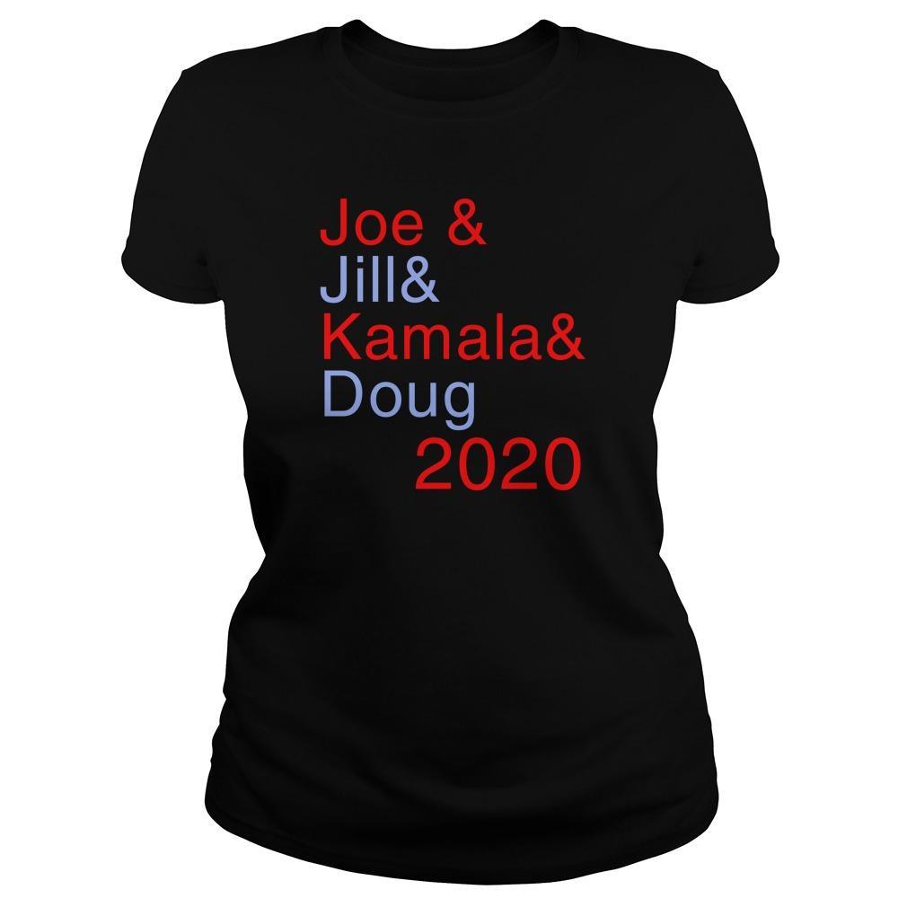 Joe & Jill & Kamala & Doug 2020 Hoodie