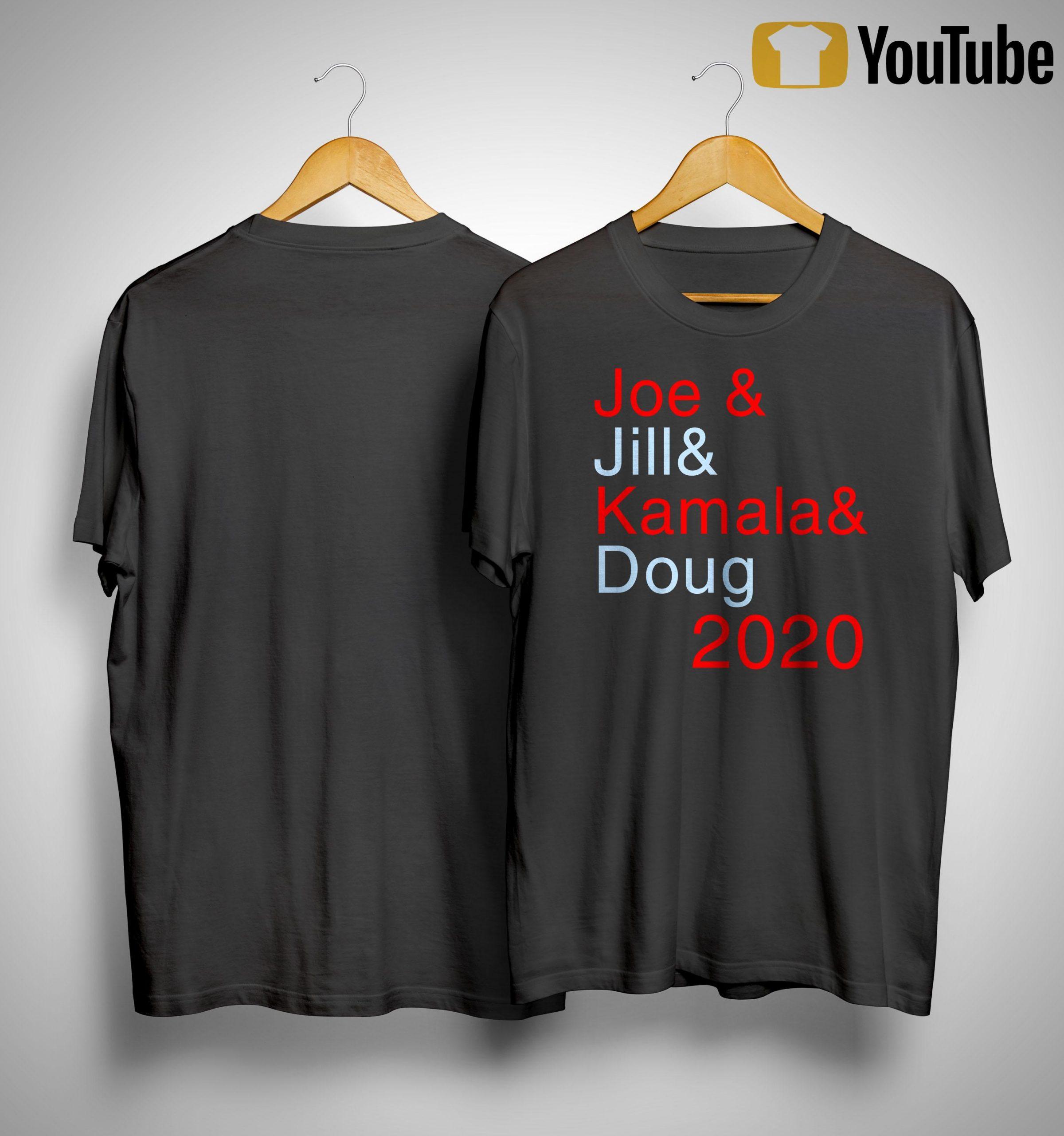 Joe & Jill & Kamala & Doug 2020 Shirt